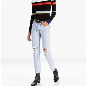 LEVI'S PREMIUM High Rise Wedgie Fit Women's Jeans